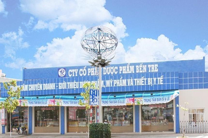 2 lãnh đạo Dược phẩm Bến Tre (DBT) vừa mua 1 triệu cổ phiếu