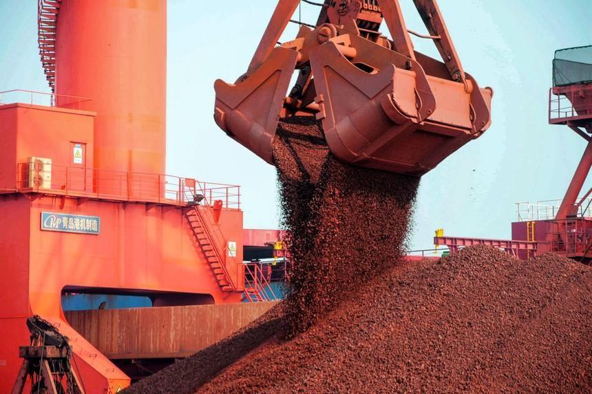 Chính sách Trung Quốc biến quặng sắt thành hàng hóa biến động mạnh nhất trên thế giới