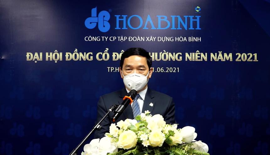 ĐHĐCĐ năm 2021 của Hoà Bình (HBC): 2 năm tới, chắc chắn giá cổ phiếu sẽ được cải thiện