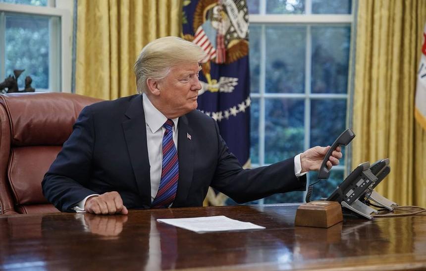 Tổng thống Mỹ Donald Trump. Ảnh: EPA-EFE.