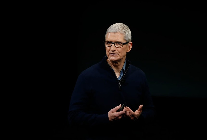 CEO Apple Tim Cook. Ảnh: Getty Images.
