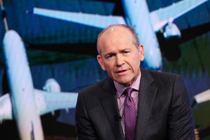 CEO Boeing David Calhoun. Ảnh: CNBC.