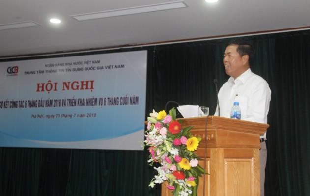 Ông Đỗ Hoàng Phong, Tổng Giám đốc CIC báo cáo tại Hội nghị