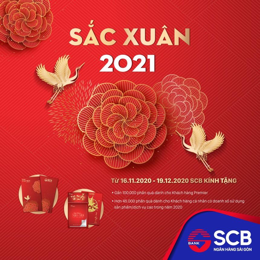 """SCB triển khai chương trình ưu đãi """"Sắc Xuân 2021"""""""