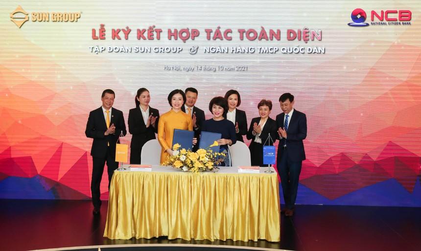 NCB và Sun Group ký kết thỏa thuận hợp tác toàn diện