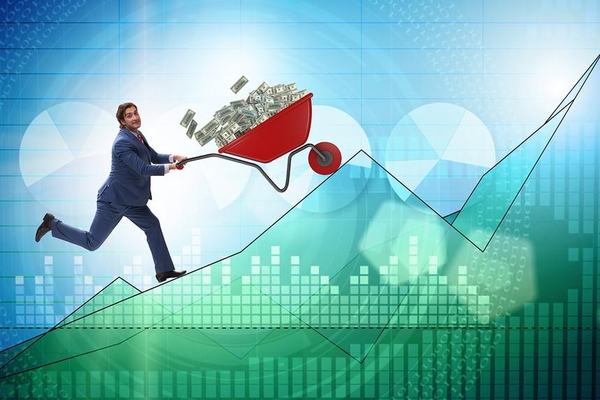 Dòng tiền đổ vào các quỹ đầu tư chứng khoán trong 5 tháng vừa qua nhiều hơn cả 12 năm trước cộng lại