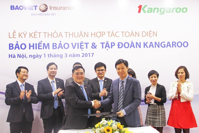 Bảo hiểm Bảo Việt ký kết thỏa thuận hợp tác với Tập đoàn Kangaroo