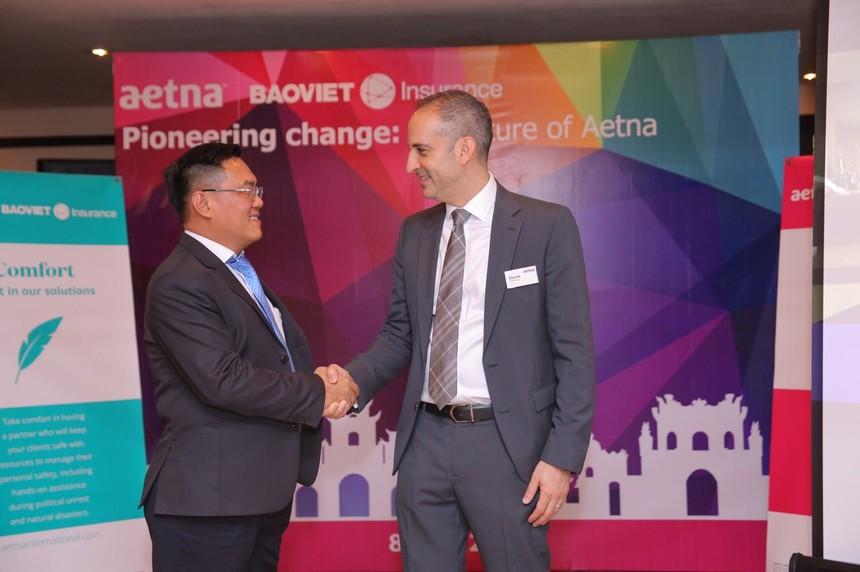 Bảo hiểm Bảo Việt bắt tay Aetna International ra mắt sản phẩm bảo hiểm sức khỏe