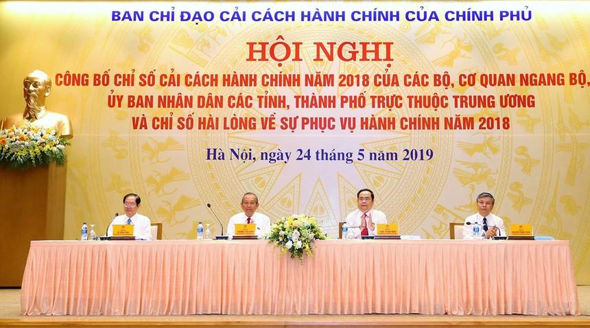 Hà Nội tiếp tục đứng số 2 về cải cách thủ tục hành chính 2018