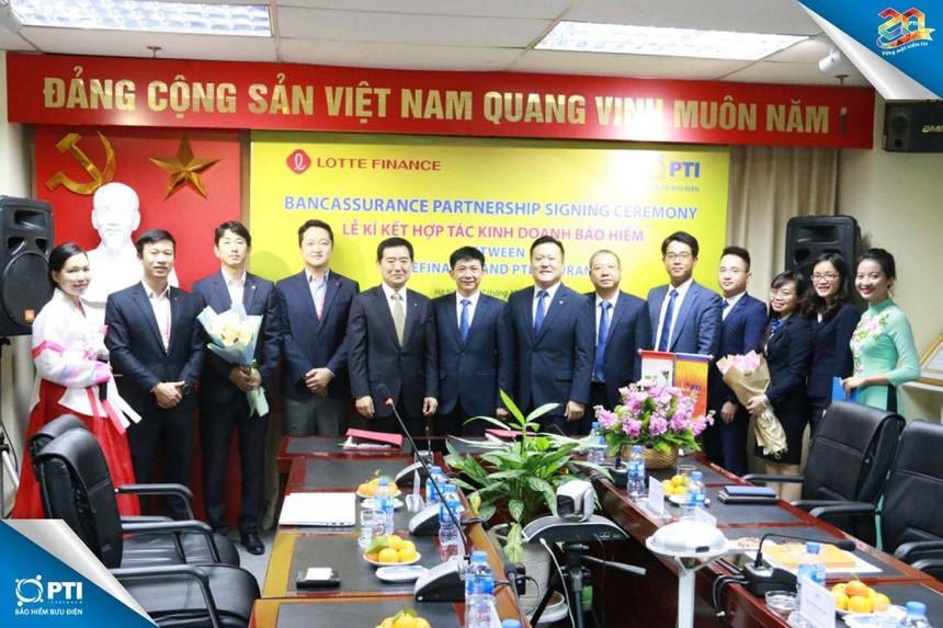 PTI hợp tác với Lotte Finance Vietnam