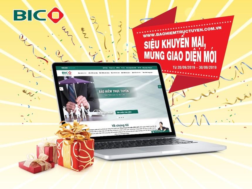BIC giảm phí đến 40% ra mắt giao diện bán hàng trực tuyến mới