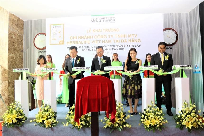 Herbalife Vietnam khai trương văn phòng mới tại Đà Nẵng