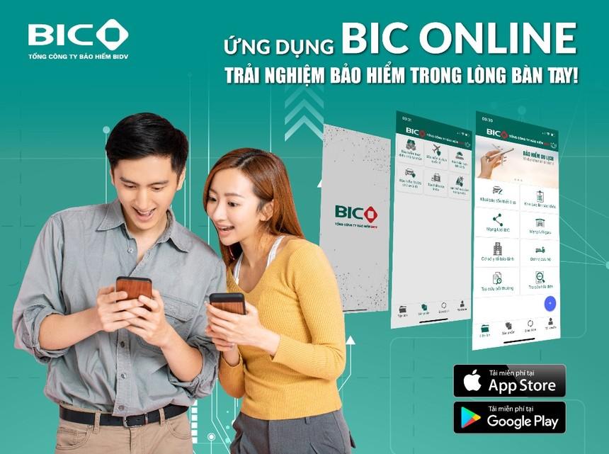 BIC ra mắt ứng dụng di động BIC Online