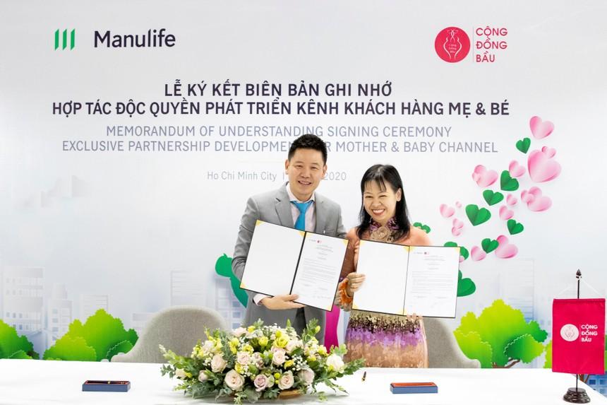 Manulife Việt Nam hợp tác với Cộng đồng bầu cùng hoạch định tài chính cho các gia đình trẻ
