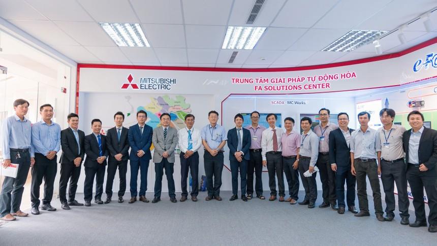 Mitsubishi Electric Việt Nam khai trương Trung tâm giải pháp tự động hóa