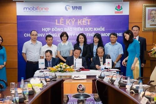 Bảo Minh và VNI sẽ cùng cung cấp chương trình bảo hiểm sức khoẻ MobiFone