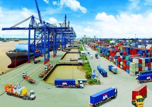 Nửa tháng 10, cán cân thương mại hàng hóa thâm hụt 438 triệu USD