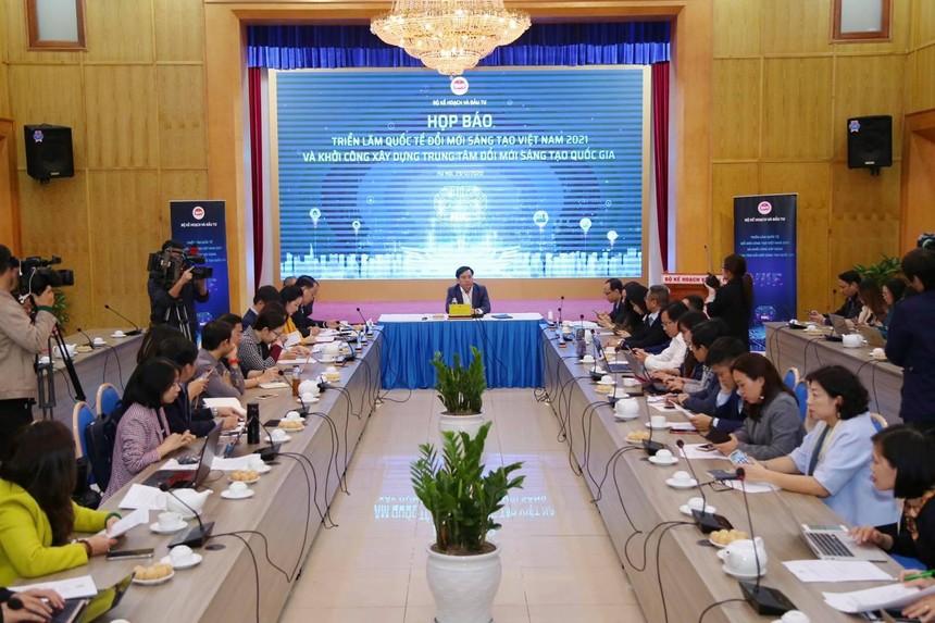 Triển lãm quốc tế về Đổi mới sáng tạo Việt Nam 2021 sẽ diễn ra ngày 9/1