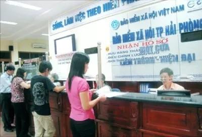 Năm 2015, Bảo hiểm xã hội Việt Nam dự toán thu 233.665 tỷ đồng. Ảnh: dddn.com.vn