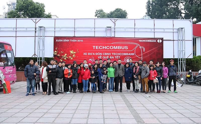 Chuyến xe yêu thương được Techcombank thực hiện từ năm 2015