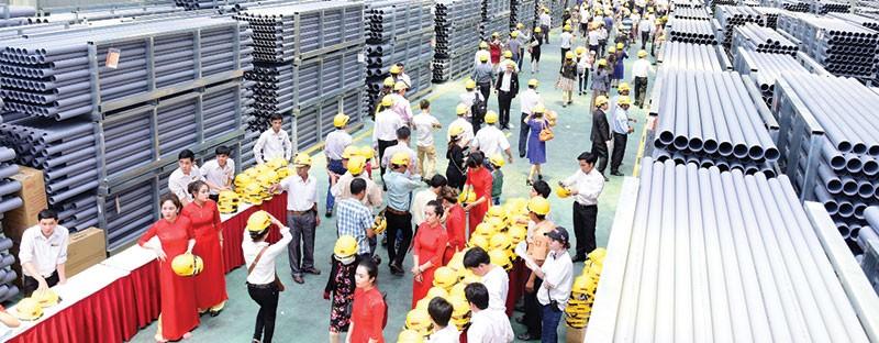 HSG khánh thành Nhà máy Ống nhựa Hoa Sen Bình Định
