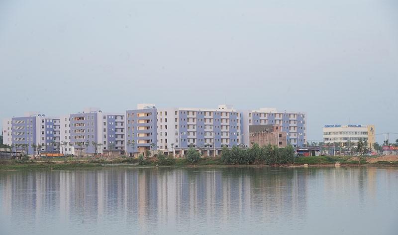 Dự án Thanh Hà hiện nay đã thuộc về đại gia Lê Thanh Thản - Ảnh: Dũng Minh.