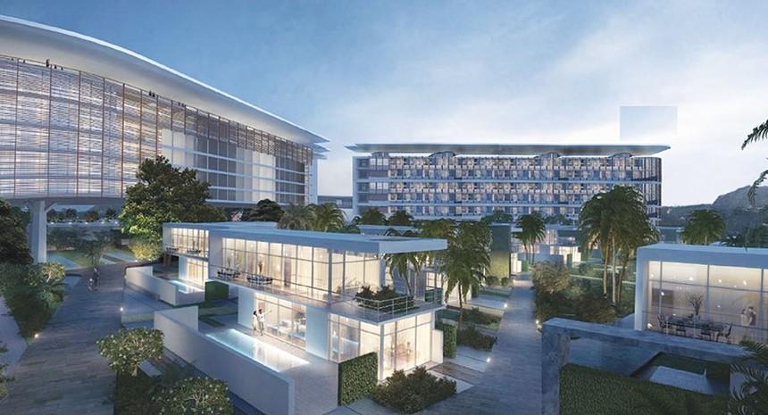 Dự án khu nghỉ dưỡng phát triển bởi BCG