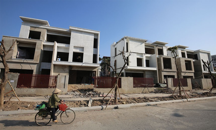 Tín dụng bất động sản đang chiếm tới 20% trong tổng số 6,8 triệu tỷ đồng dư nợ toàn nền kinh tế