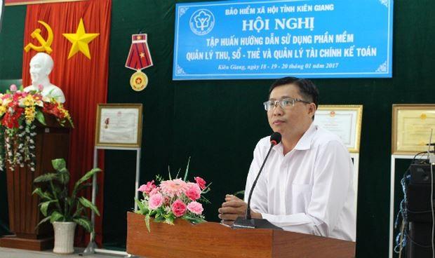 Ông Nguyễn Công Chánh tin tưởng khi áp dụng sáng kiến này thì chỉ cần 3-5 ngày tiền sẽ đến tận tay người lao động được hưởng trợ cấp.