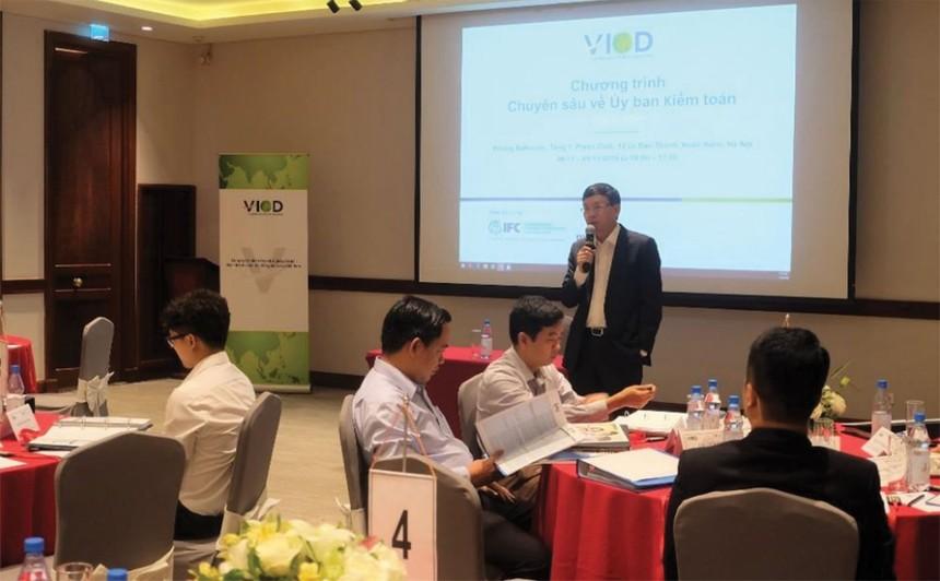 Tiến sỹ Vũ Bằng, cố vấn cấp cao cho HĐQT của VIOD, Chủ tịch Hội đồng Sáng kiến quản trị công ty Việt Nam - VCGI