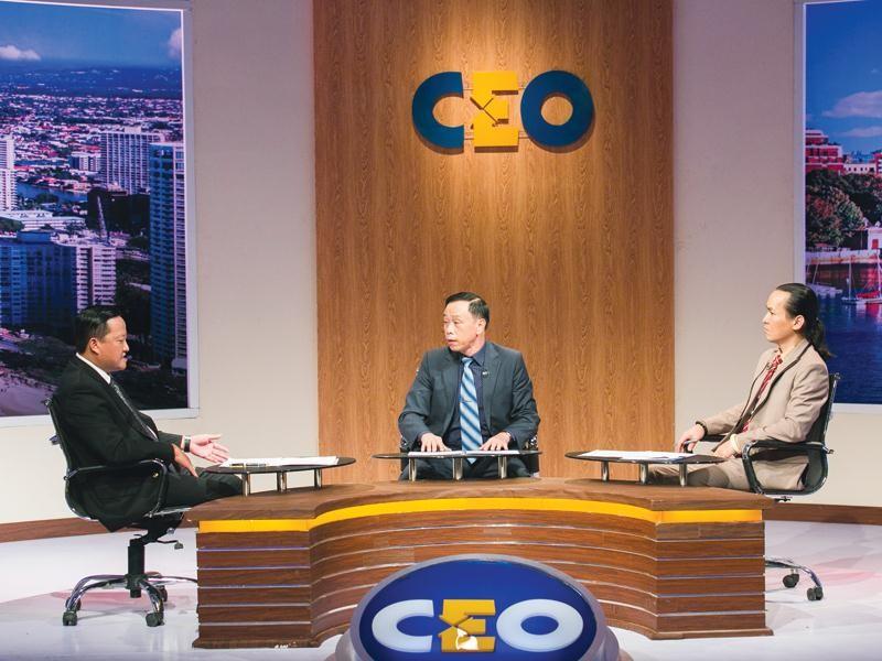 Doanh nhân Nguyễn Ngọc Thắng là người chơi ở vị trí CEO tuần này