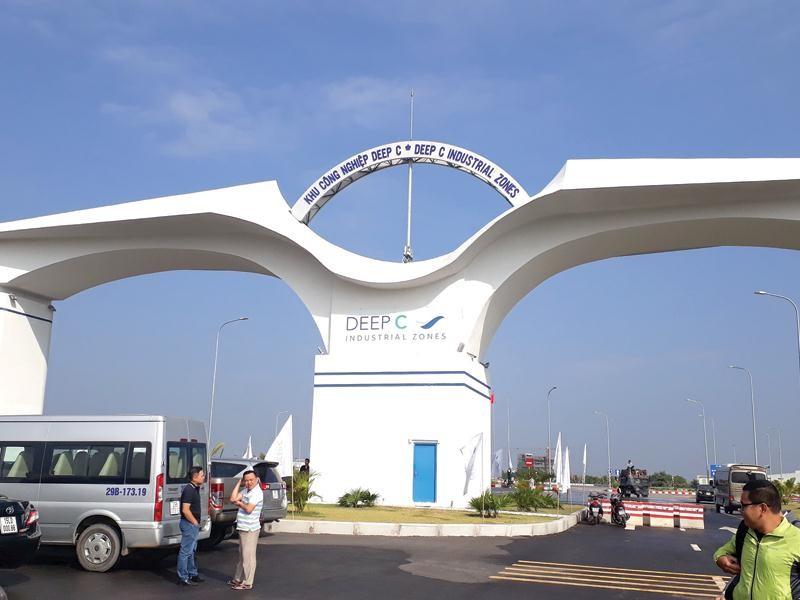Khu công nghiệp Deep C là điểm đến của nhiều dự án đầu tư tại Hải Phòng.