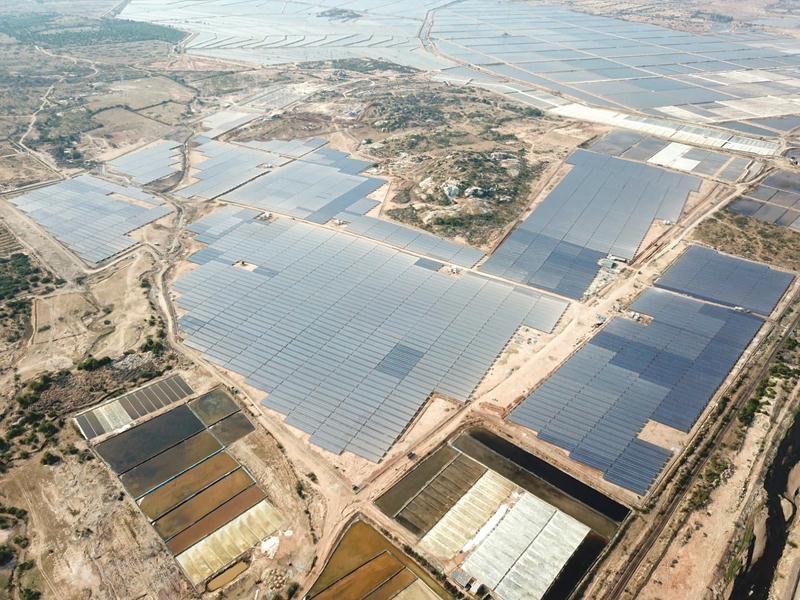 Dự án Điện mặt trời của Tập đoàn BIM tại tỉnh Ninh Thuận.