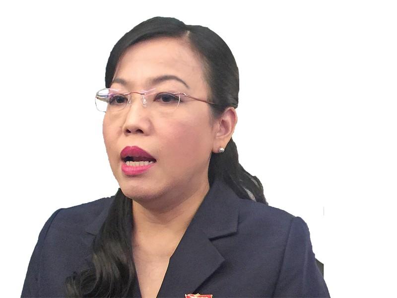 Bà Nguyễn Thanh Hải, Trưởng ban Dân nguyện của Quốc hội