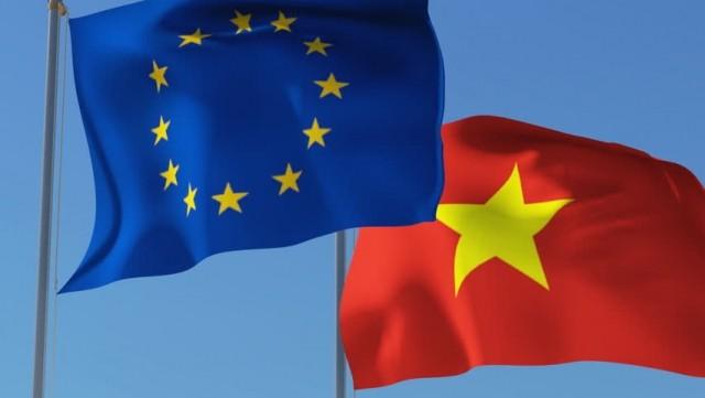 Ảnh minh họa: Việt Nam tiếp tục khẳng định đường lối hội nhập quốc tế sâu rộng thông qua việc ký kết EVFTA