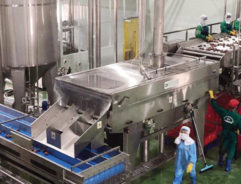 Việc ký kết EVFTA tạo cơ hội cho Công ty Nafoods đẩy mạnh sản xuất và xuất khẩu sản phẩm nước ép cô đặc chanh leo