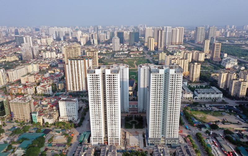 Việc siết trái phiếu doanh nghiệp sẽ tác động mạnh đến thị trường bất động sản, bởi đây là nguồn lực quan trọng của nhiều doanh nghiệp địa ốc hiện nay. Ảnh: Đ.T