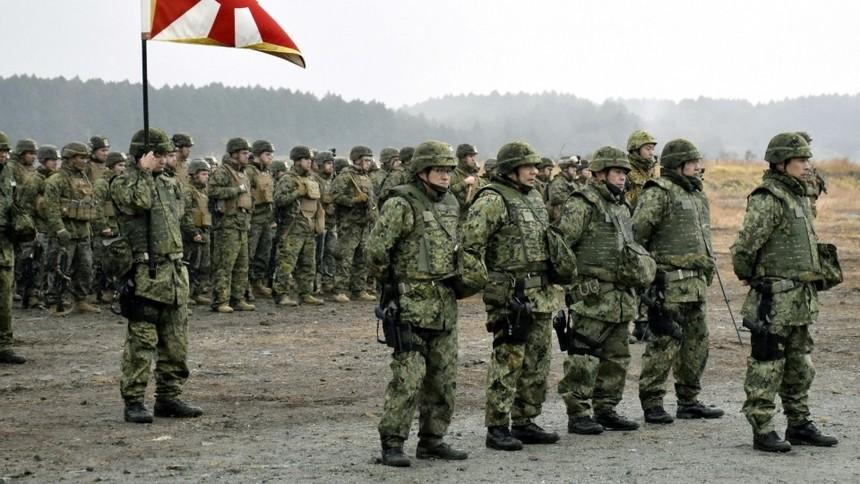 Ngày càng ít thanh niên Nhật Bản nhập ngũ vì đãi ngộ kém hấp dẫn. Ảnh: Kyodo News.