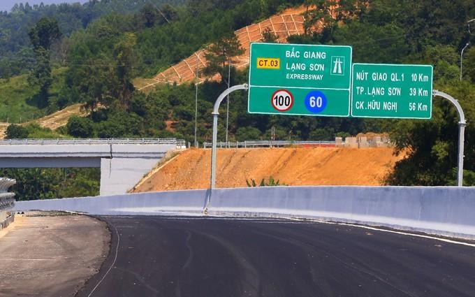 Khoảng hẫng lớn tại Dự án cao tốc Bắc Giang - Lạng Sơn