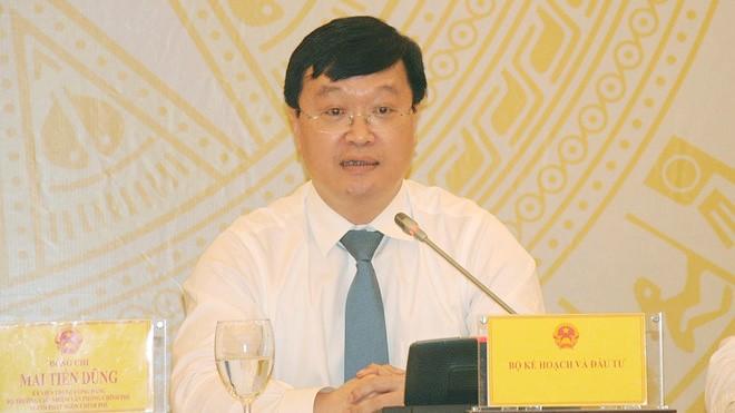 Thứ trưởng Bộ Kế hoạch và Đầu tư Nguyễn Đức Trung (Ảnh: Thanh niên)
