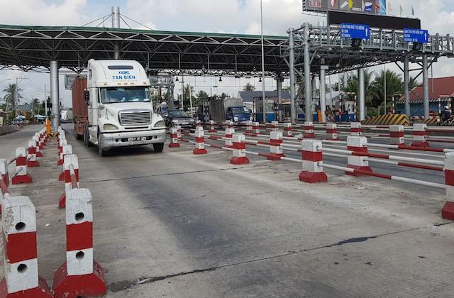 Cho đến thời điểm này, Dự án BOT đầu tư xây dựng công trình QL1 đoạn tránh thị xã Cai Lậy và tăng cường mặt đường QL1 đoạn Km1987+560÷Km2014, tỉnh Tiền Giang do BIDV tài trợ vốn vẫn chưa thu phí trở lại sau gần 2 năm gián đoạn.