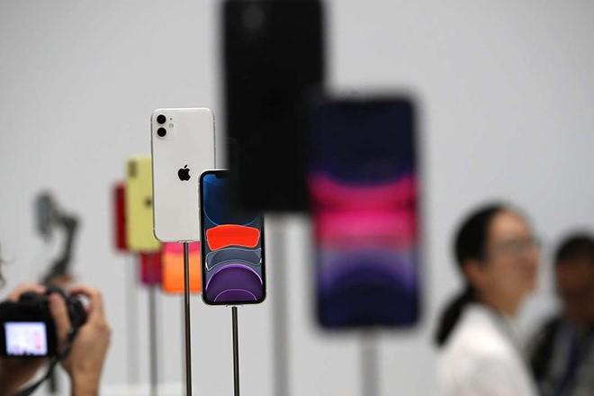 iPhone 11 góp công lớn vào thành công của Apple trong năm 2019. Ảnh: AFP