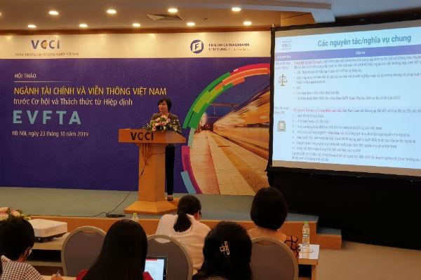 EVFTA: Tổ chức tín dụng trong EU có thể sở hữu tối đa 49% vốn tại hai ngân hàng Việt Nam