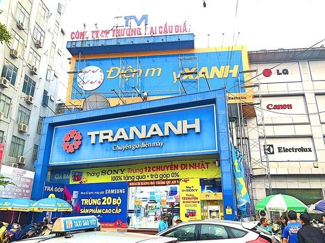 Một cửa hàng điện máy Trần Anh trước khi bị đổi tên thành Điện Máy Xanh. Ảnh: Hồng Phúc.