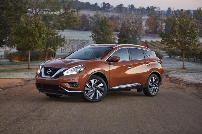 Nissan Murano - Một mẫu xe trong diện triệu hồi. Ảnh minh hoạ