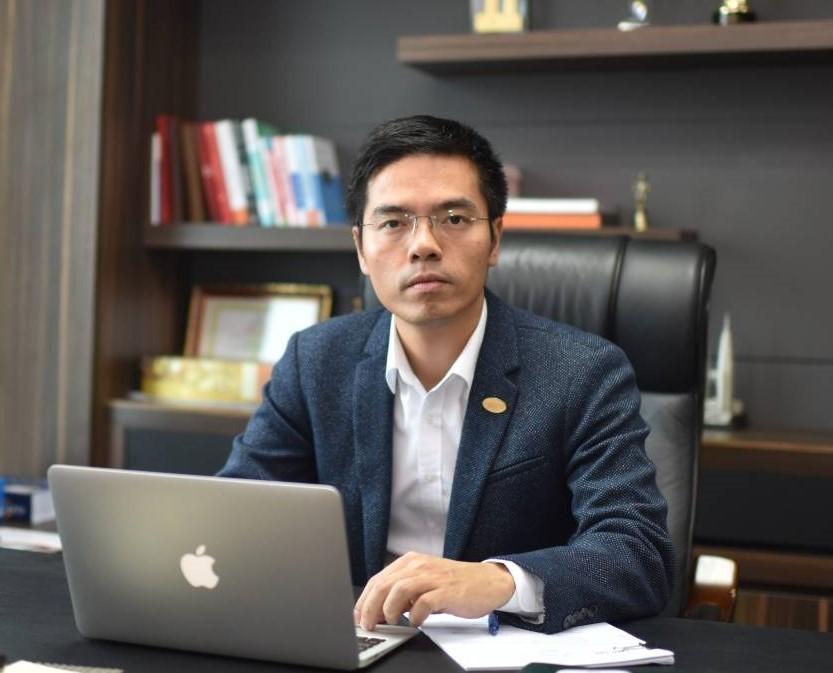Ông Lê Phụng Thắng, Tổng giám đốc Công ty cổ phần thương mại Citicom, Phó chủ tịch Hội doanh nhân trẻ Việt Nam, phụ trách công tác Giải thưởng Sao Đỏ - Doanh nhân trẻ Việt Nam tiêu biểu 2019