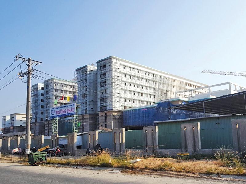 Bệnh viện Đa khoa Kiên Giang là dự án trọng điểm nên việc lựa chọn nhà thầu rất cẩn thận.