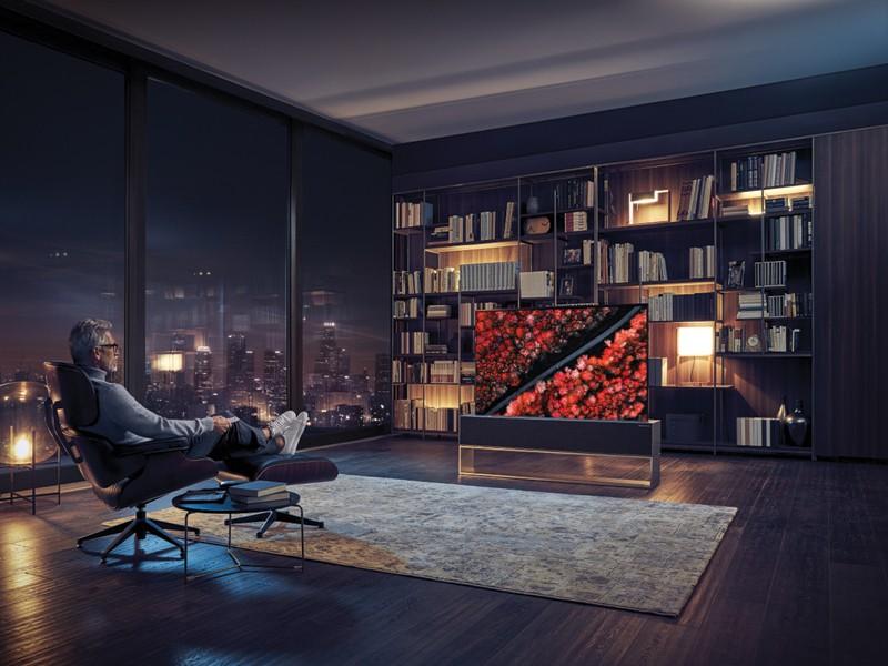 Một mẫu tivi cao cấp mới của LG.