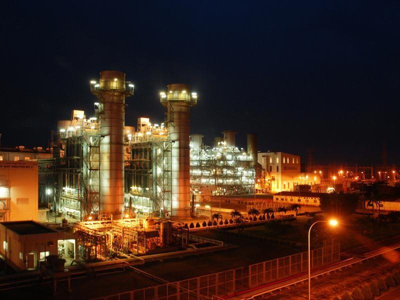 Các dự án điện khí có vốn rất lớn, nên vắng bóng nhà đầu tư tư nhân trong nước. Trong ảnh: Nhiệt điện khí Phú Mỹ 4 của EVN Genco 3.