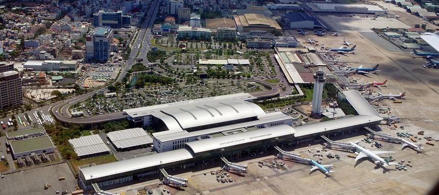Tân Sơn Nhất là cảng hàng không lớn nhất cả nước với sản lượng hành khách thông qua cảng đạt hơn 38,3 triệu hành khách trong năm 2018
